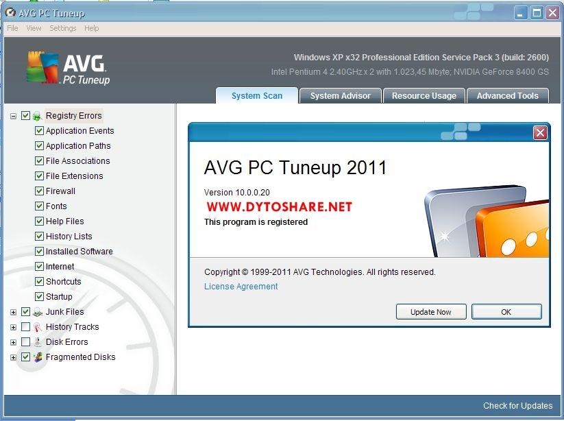 ключи для avg pc tuneup 2011 свежие серии